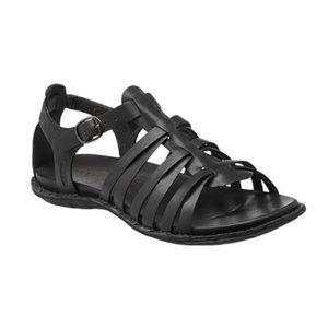 Keen Alman Gladiator Sandals Black Leather Sandals